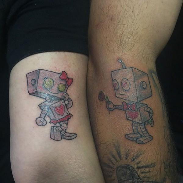 Unique Matching Tattoo