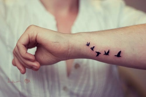 de714787b 100 Small Bird Tattoos Designs with Images - Piercings Models