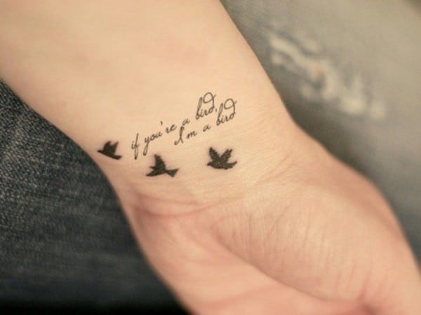 Beautiful Wrist Tattoo