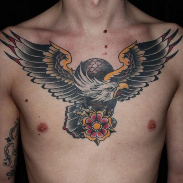 Eagle Tattoo Designs Lower Back