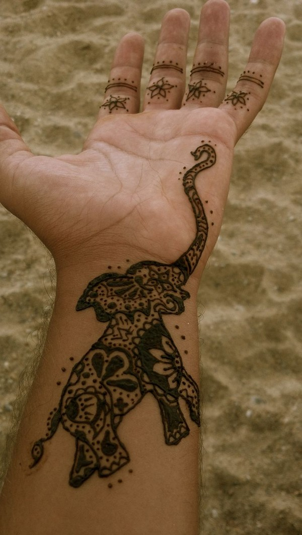 Elephant Tattoo Pinterest