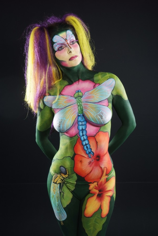 Full Body Paint Video