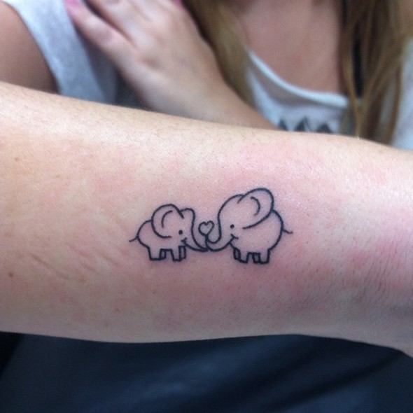 14a0a53b396c7 100 Mind-Blowing Elephant Tattoo Designs with Images - Piercings Models