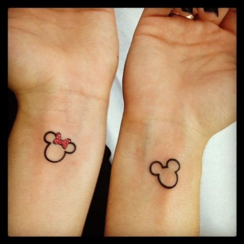 Cute Disney Tattoos