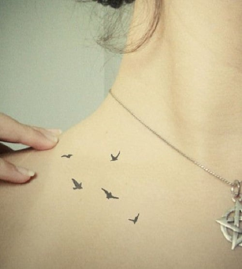 100 Small Bird Tattoo Designs With Images (2020