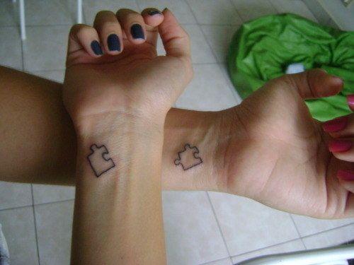 100 einzigartige Best Friend Tattoos mit Bildern