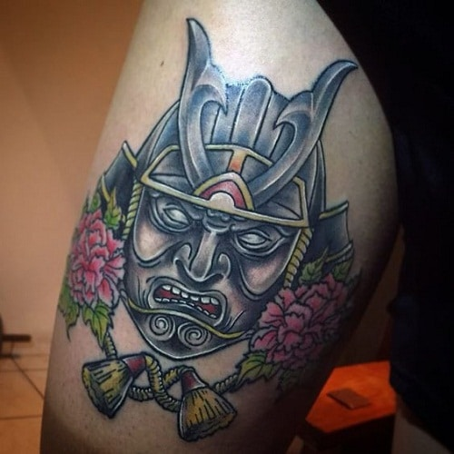 Strong Samurai Tattoo