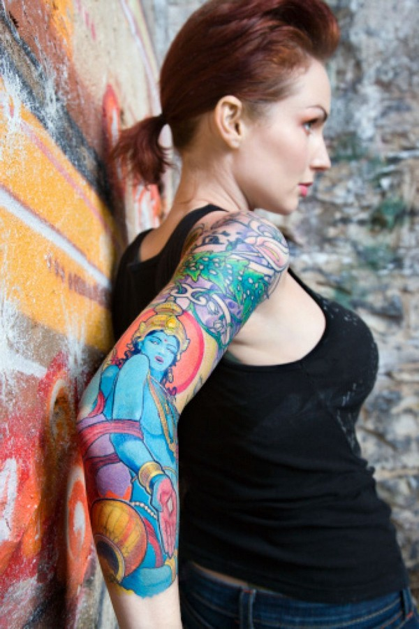 Amazing Sleeve Tattoo Designs