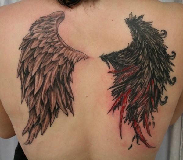 Naked devil tattoos