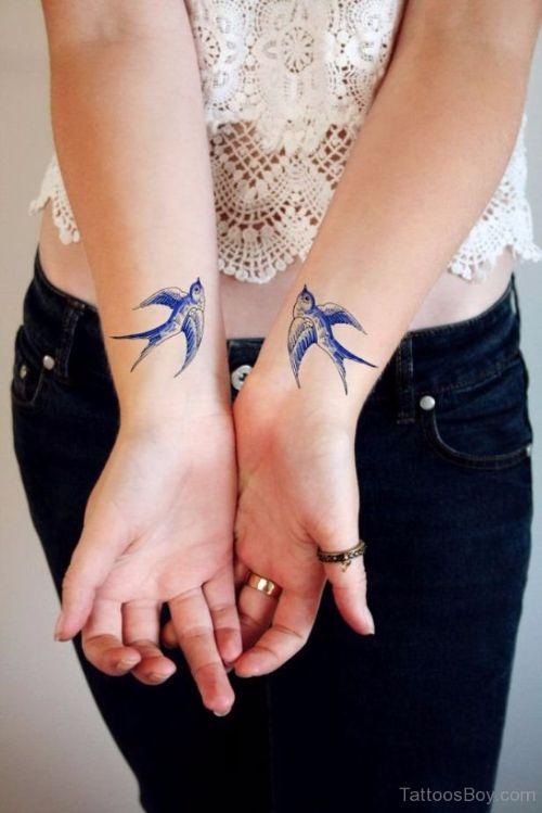 Swallow Tattoo Arm