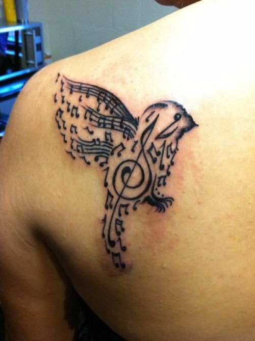 52 Best Small Music Tattoos And Designs