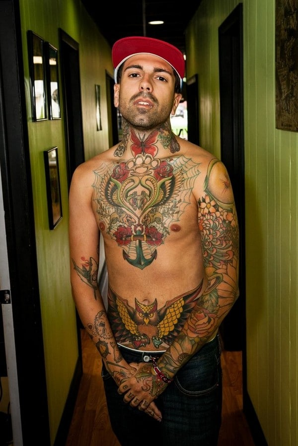 Celebrity Tattoos Men