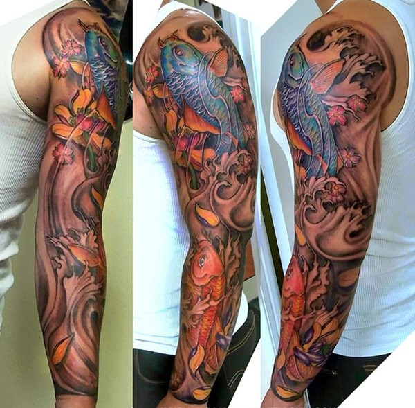 Choose Full Sleeve Tattoos Designs