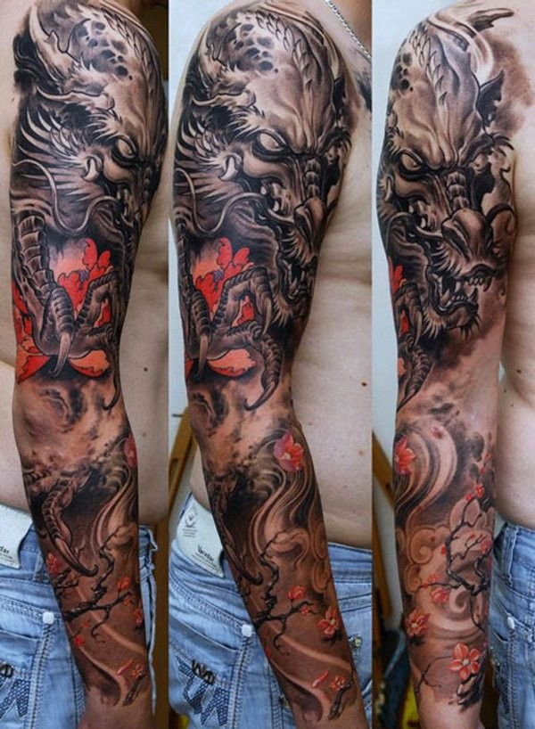 Cool Full Sleeve Tattoos
