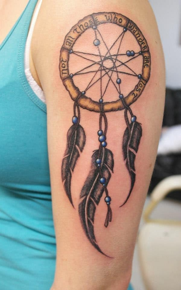 Names That Mean Dream Catcher 40 Unique Dreamcatcher Tattoos with Images Piercings Models 8