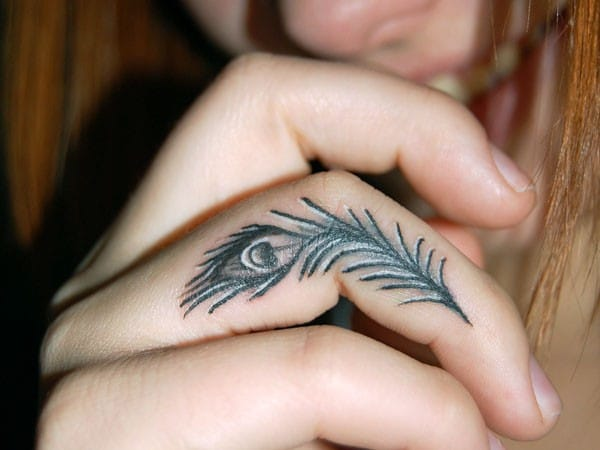 a83b9552a 100 Best Feather Tattoo Designs with Images - Piercings Models
