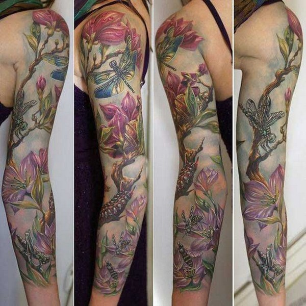 Fabulous Floral Sleeve