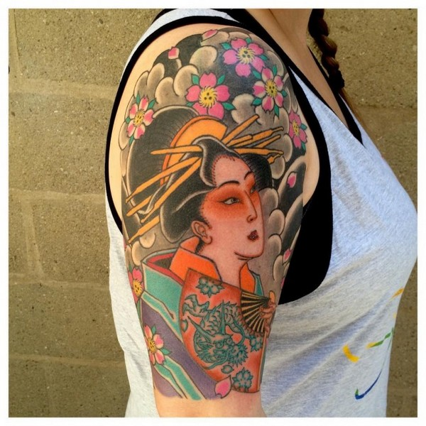 Geisha Tattoo Meaning For Men