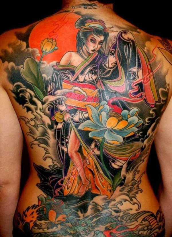 Geisha Tattoos Designs