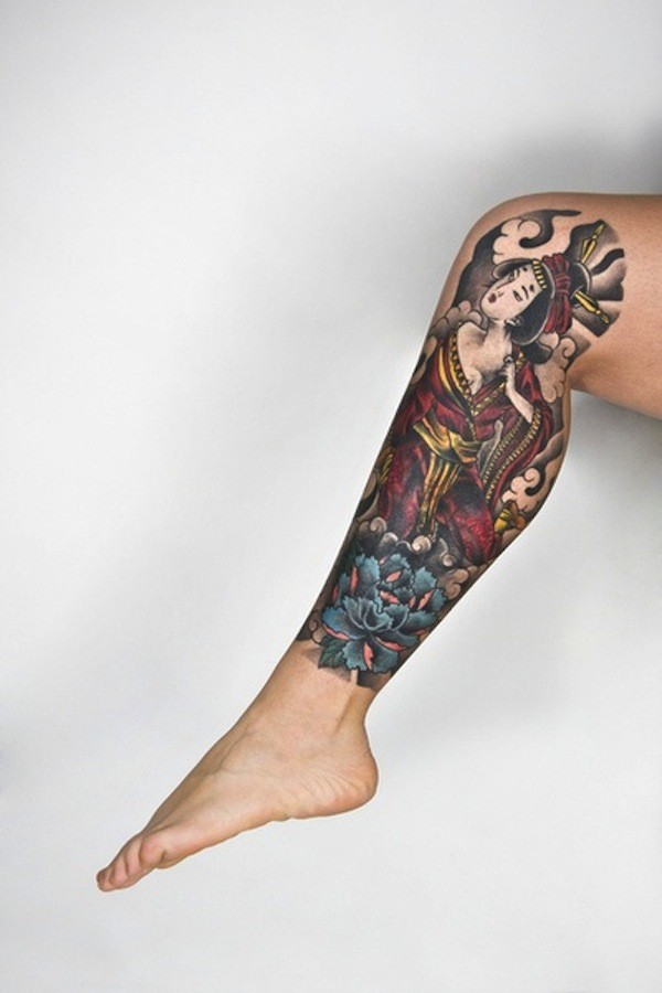 Geisha Tattoos Meaning