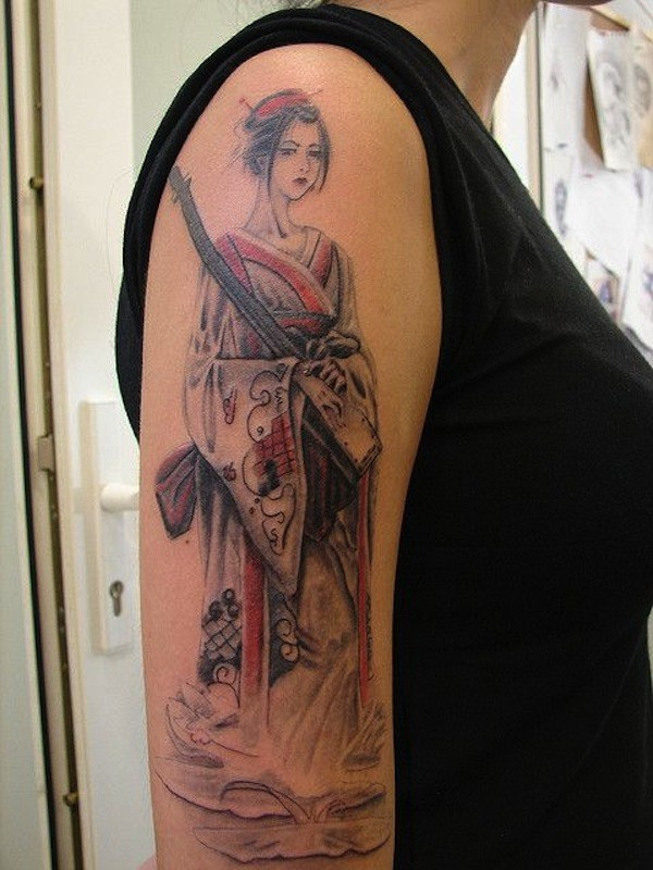 Geisha Tattoos Pictures