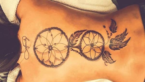 Native Dream Catcher Tattoos 40 Unique Dreamcatcher Tattoos with Images Piercings Models 34