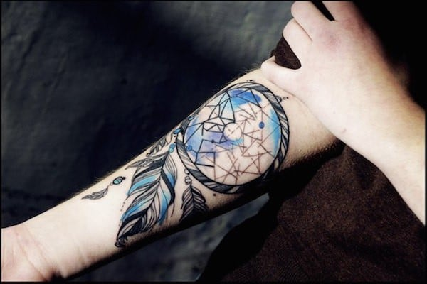 Dream Catchers Tattoo Meaning 40 Unique Dreamcatcher Tattoos with Images Piercings Models 31