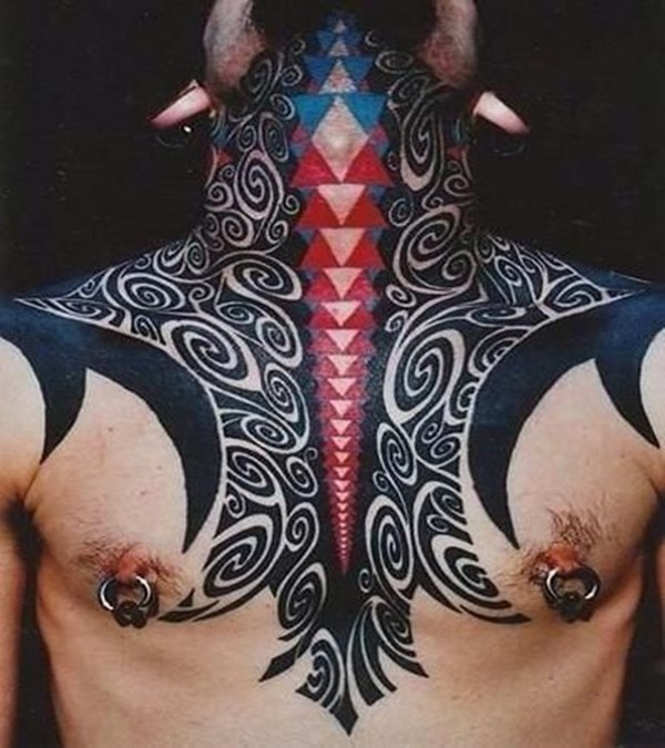 Neck Tattoos For Men