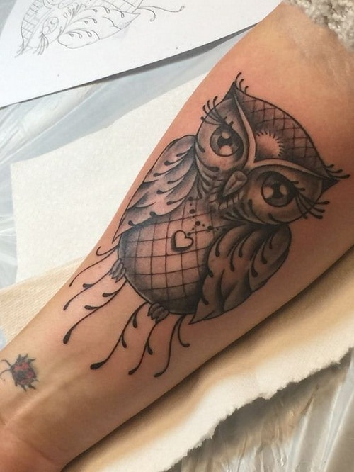 Owl Tattoo for Enthusiasts