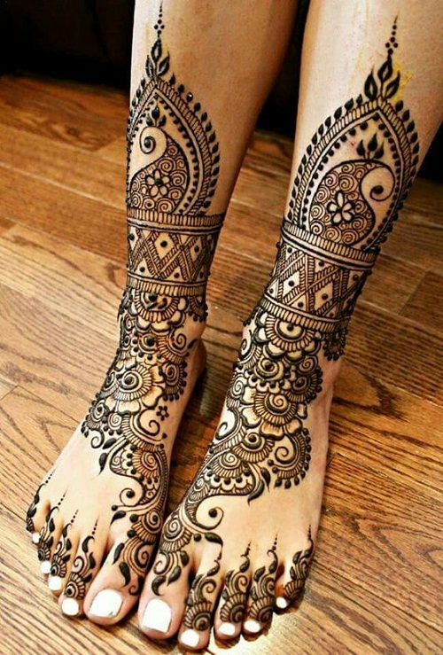 Ancient Bridal Mehndi Designs