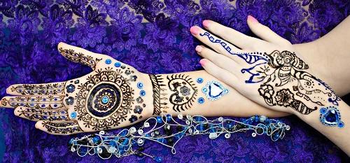 Beautiful Heart Bridal Mehndi Designs