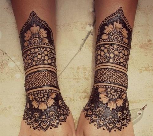 Classic Henna Bridal Mehndi Designs