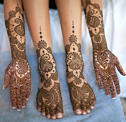 Complete Bridal Mehndi Designs