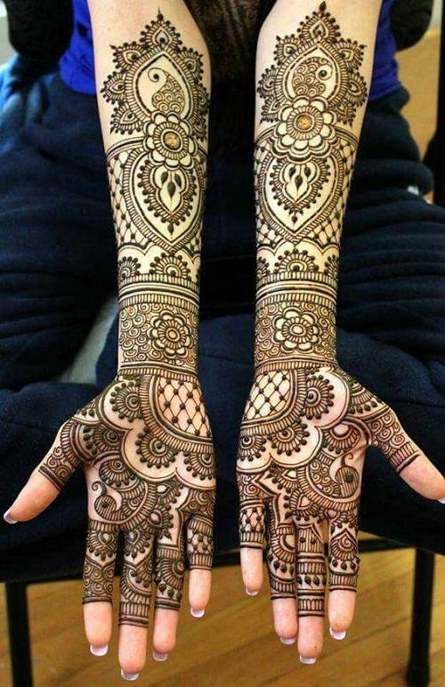 Mehndi Designs New Models : Latest bridal mehndi designs with images