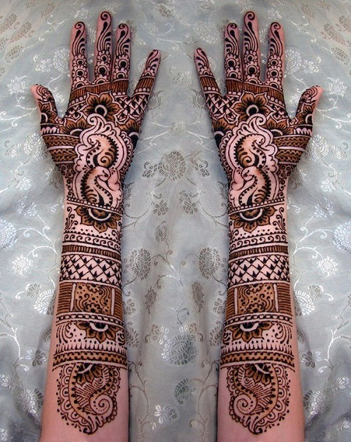 Hand Pakistani Bridal Mehndi Designs