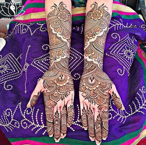 Latest Pakistani 2016 Bridal Mehndi Designs