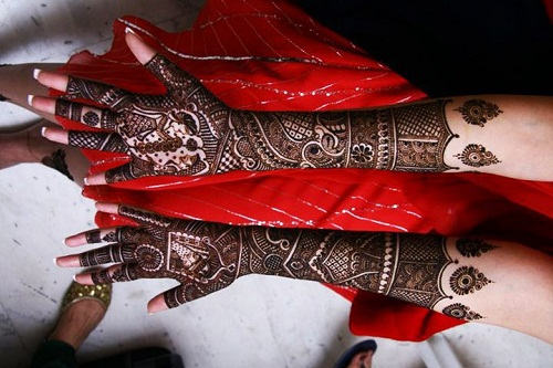 Meaningful Pattern for 2016Wedding Bridal Mehndi Designs