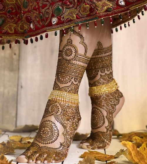 Perfect Bridal Mehndi Designs