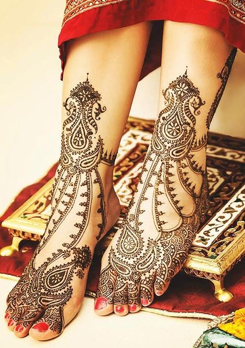 Rajasthan Bridal Mehndi Designs