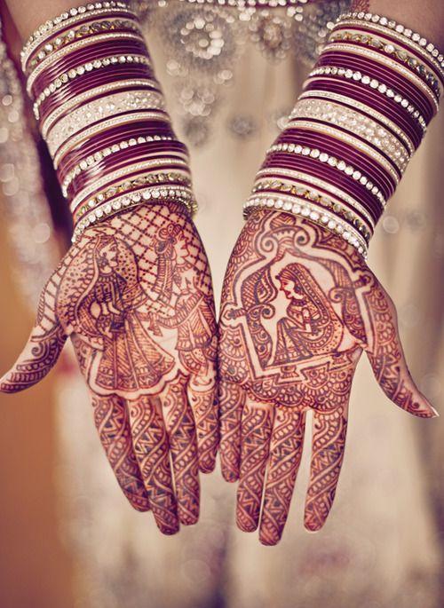 Unique Bridal Mehndi Designs