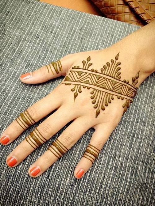 Crazy Arabic Mehndi Designs