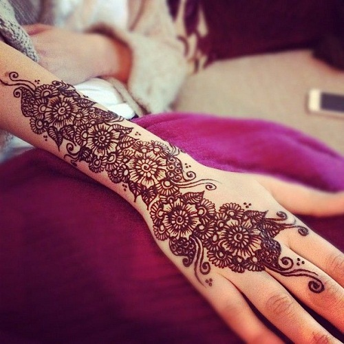 Full Hands Arabic Mehndi Designs
