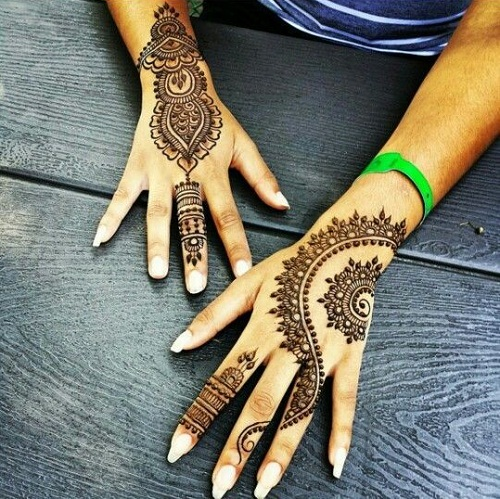 Incredible Arabic Mehndi Designs