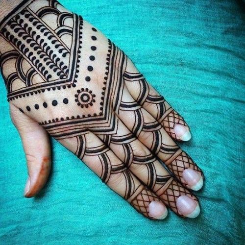 Luring Arabic Mehndi Designs