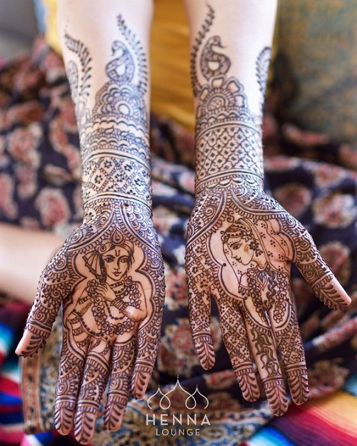 Man and Woman Arabic Mehndi Designs