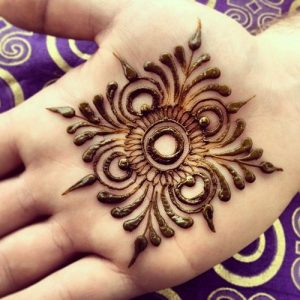 Mandala Simple Mehndi Designs