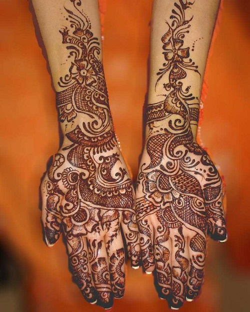 New Arabic Mehndi Designs