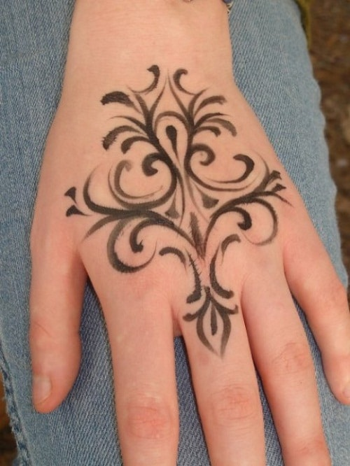 Perfect for Hand Simple Mehndi Designs