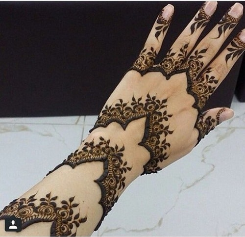 Primo Arabic Mehndi Designs