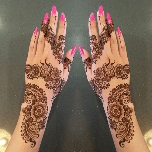 Splendid Arabic Mehndi Designs